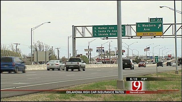 Oklahoma Ranks Second Most Expensive State To Buy Car Insurance