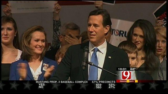 Santorum Wins Oklahoma In Super Tuesday Primary