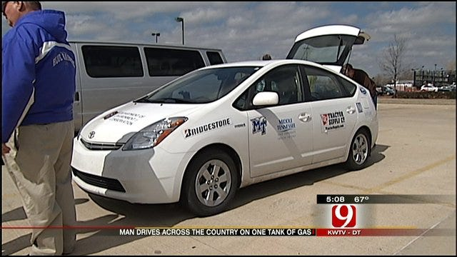 Tennessee Professor Drives Car Across Nation On 10 Gallons Of Gas