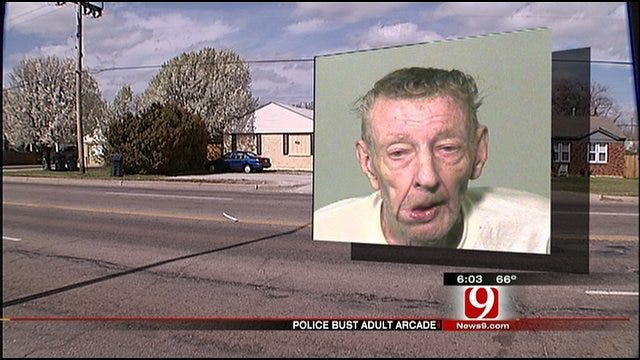 Neighbor Responds To OKC Man's Arrest In Adult Arcade House Case