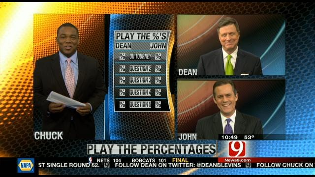 Play The Percentages: March 4, 2012