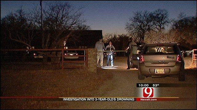 3-Year-Old Boy Drowns At Blanchard Home