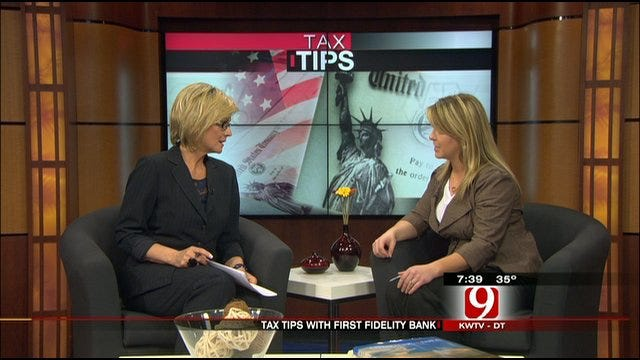 First Fidelity Bank Offers Tax Tips For 2012