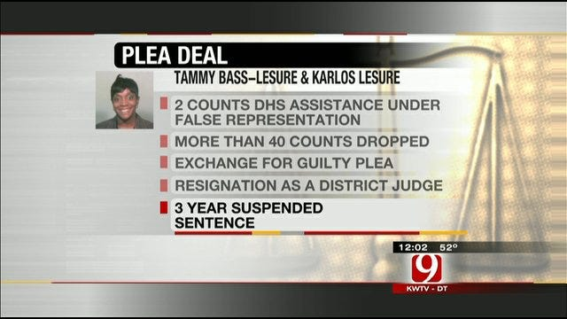 Former Oklahoma Judge Pleads Guilty To Fraud Charges