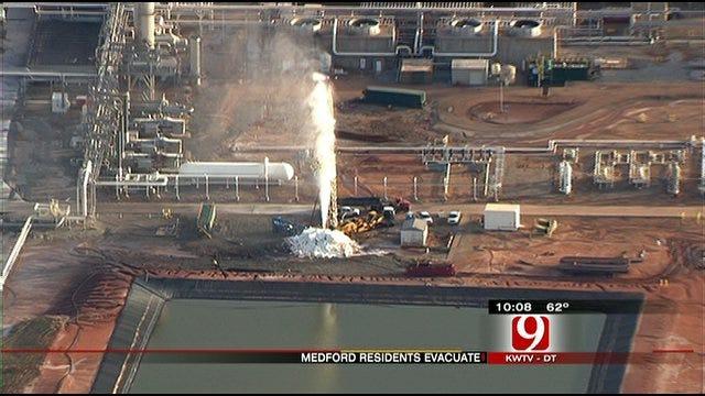 Voluntary Evacuation In Medford Due To Gas Leak