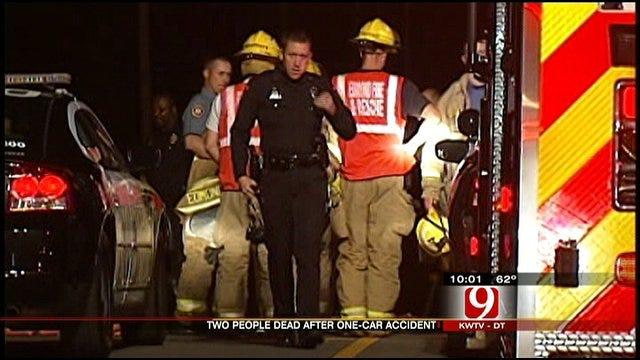 Two Dead In Edmond Rollover Crash
