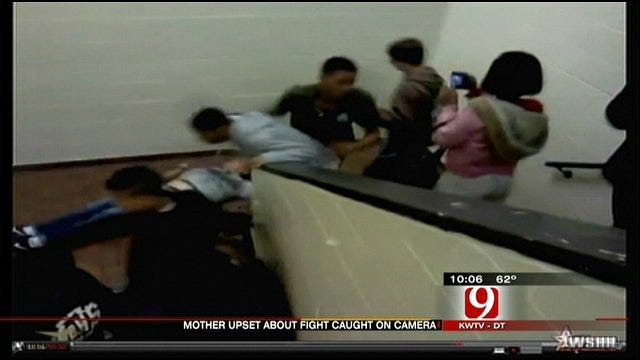 Mother Outraged Over Mid-Del School Fight