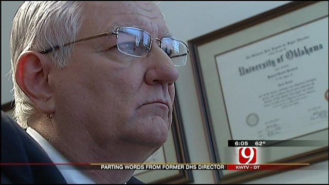 Oklahoma DHS Director's Tenure At An End