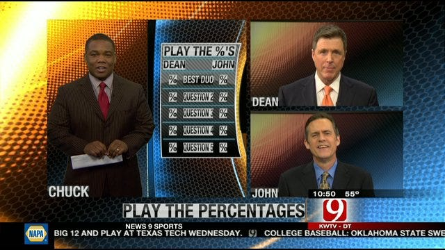 Play the Percentages: Feb. 26, 2012