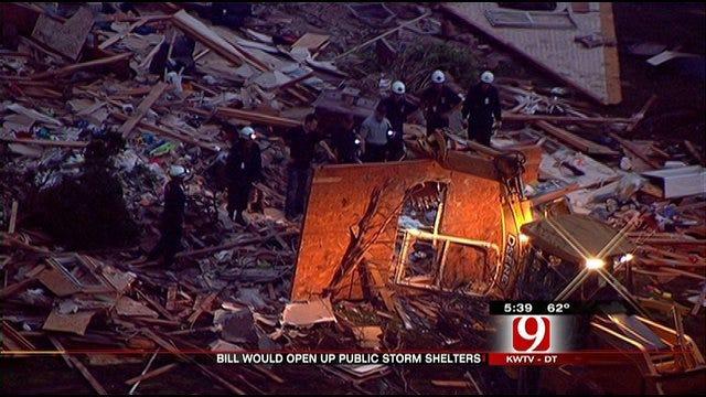 Storm Brews Over Storm Shelter Bill