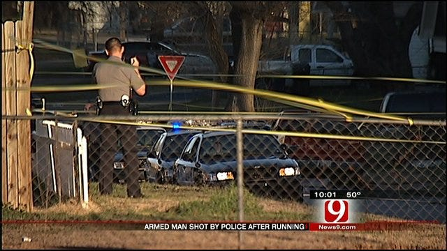 One Man Wounded In Officer-Involved Shooting