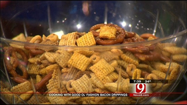 Owner Of Twin Foods Demonstrates Cooking With Bacon Drippings