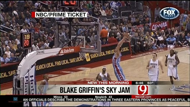 Blake Griffin's Hang Time!