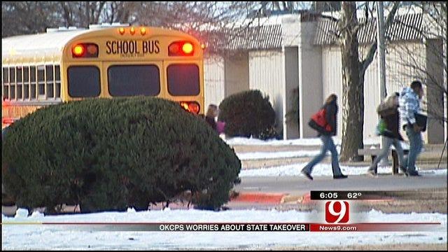 OKC School Board Frets School Takeovers