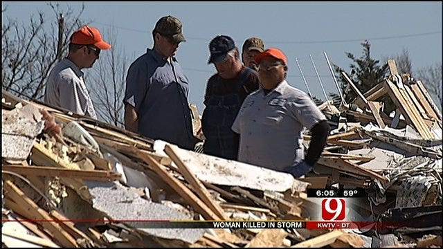 Oklahoma Woman Killed, Husband Critically Injured In Severe Storm