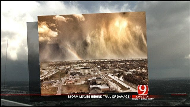Oklahoma Storms Turn Deadly, Cause Damage