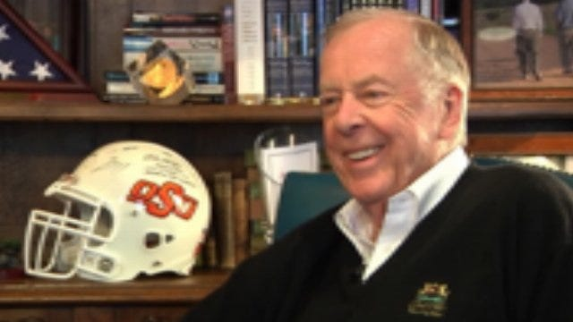 Boone Pickens Interview: Part Two