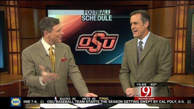 Dean And John Break Down OU And OSU Football Schedules