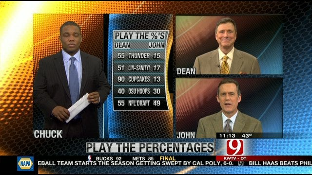 Play the Percentages: Feb. 18, 2012
