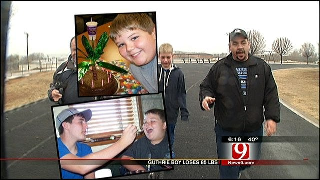 Guthrie Boy Loses 85 Pounds In One Year