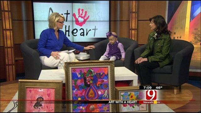 10th Annual Art With A Heart Event In Oklahoma City