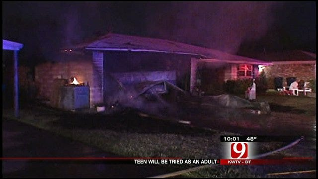 Boy To Be Tried As Adult For Arson, Parents React