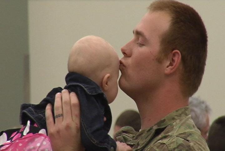 Oklahoma Soldiers Return From Deployment In Iraq