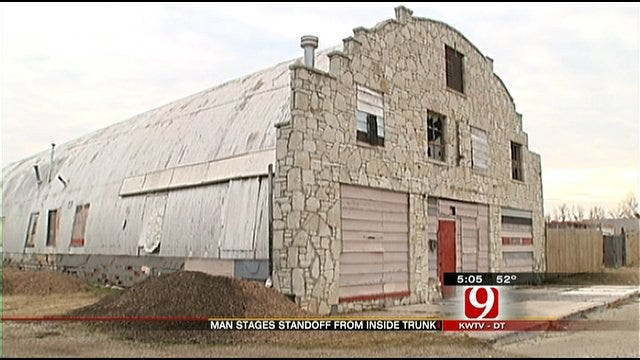 Man Sleeping In Garage Causes Eight-Hour Standoff In OKC