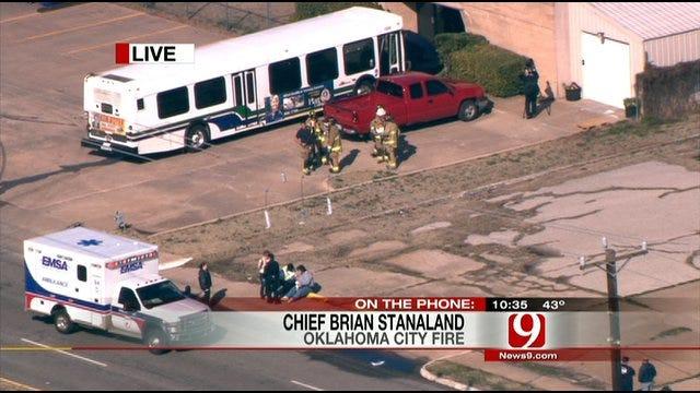 SUV, Metro Transit City Bus Collide