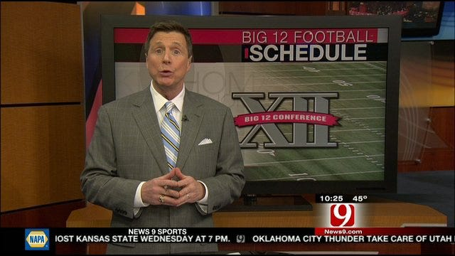 Dean Blevins Breaks Down OU And OSU's 2012 Football Schedule
