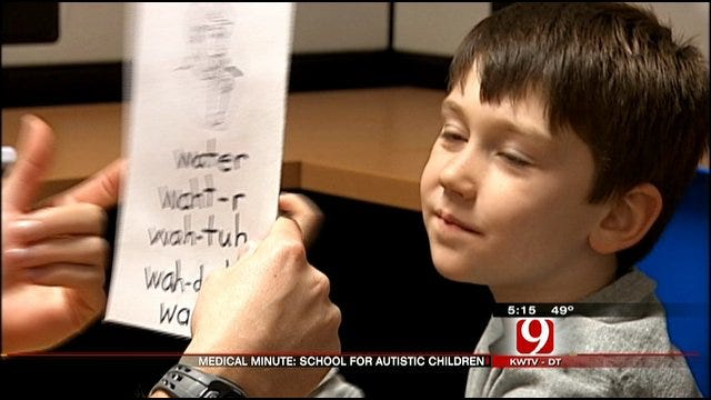 Medical Minute: School For Autistic Children