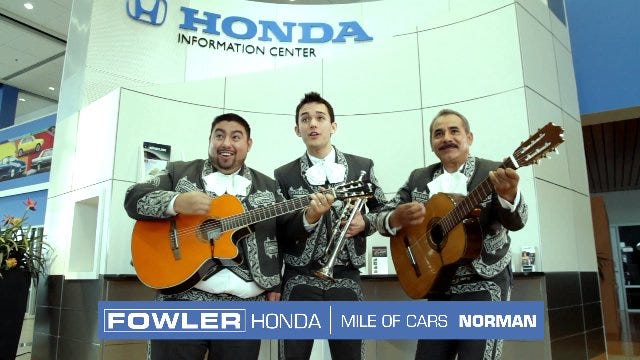 Fowler Honda: Auditions