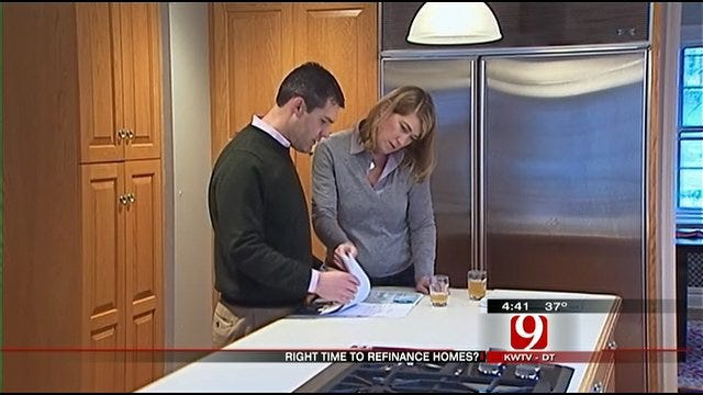 Money Monday: Refinancing Home Mortgages