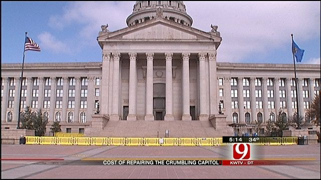 Crumbling Capitol In Need Of Repairs