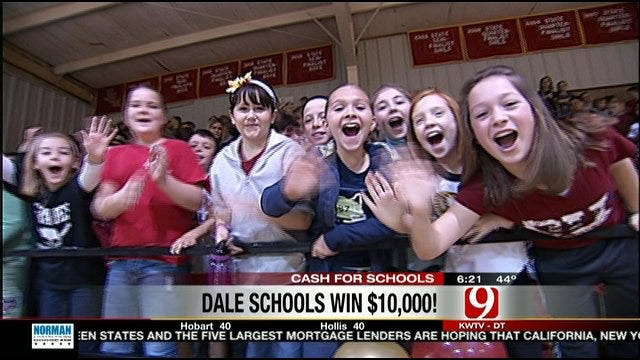 Dale High School Wins Cash For Schools Giveaway