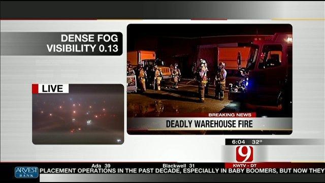 Deadly Oklahoma City Warehouse Fire