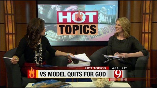 Hot Topics: Victoria's Secret Model Quits To Honor God And Husband