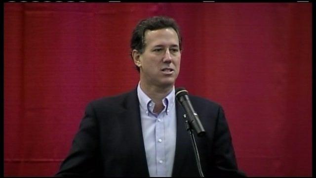 Rick Santorum On Jobs, Natural Energy Sources In U.S.