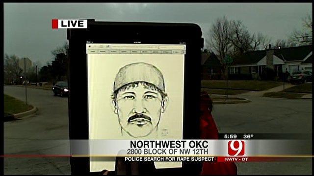 Police Release Sketch Of OKC Rapist