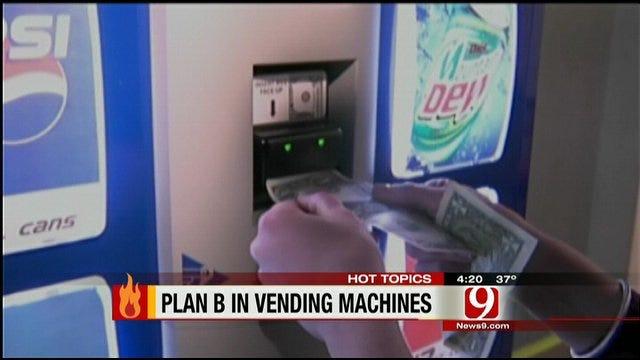 Hot Topics: Birth Control Vending Machines