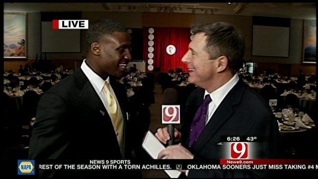 Dean Blevins One-On-One With Morris Claiborne