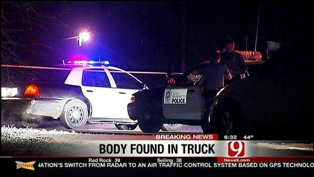 OKC Police Investigate Body Found In Truck
