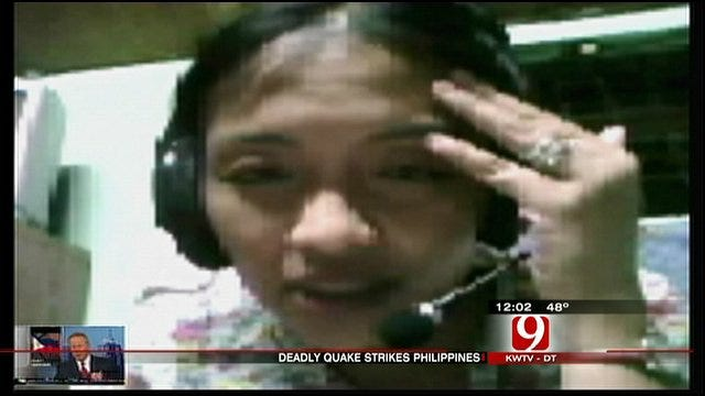 Moore Man's Fiancée In Philippines Talks About Deadly Earthquake