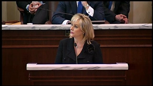 Governor Fallin On Streamlining Government