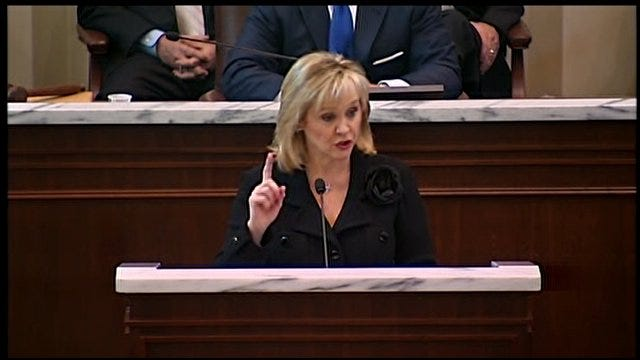 WEB EXTRA: Governor Fallin Looks Back On Challenges, Progress