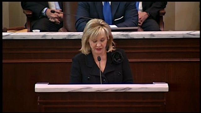 WEB EXTRA: Governor Fallin Discusses Creating Jobs In Oklahoma