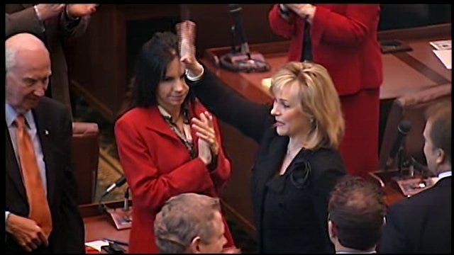 WEB EXTRA: Governor Fallin Recognizes Oklahomans In Military