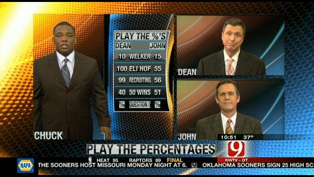 Play the Percentages: Feb. 5, 2012