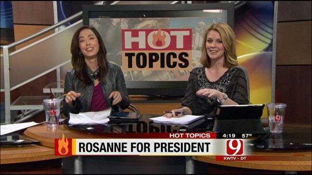 Friday's Hot Topics: Michigan Teen Suspended, Roseanne For President