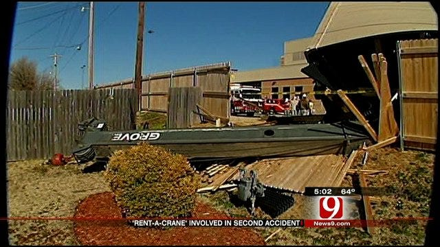 Investigation Into Crane Accident At Deaconess Continues